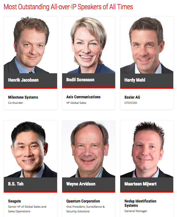 Join Most Outstanding All-over-IP Speakers of All Times