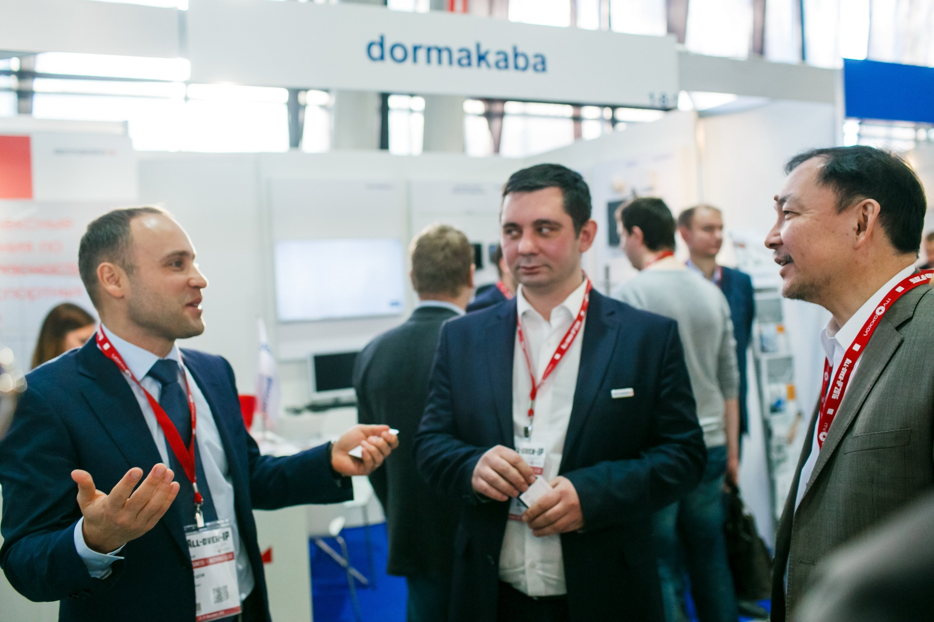 dormakaba – Knowledge Centre for Banks, Retail, Critical Infrastructure and Hotels at All-over-IP 2018