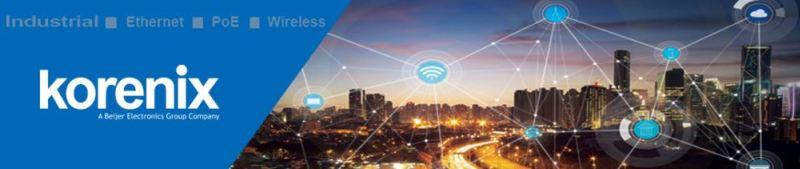 IoT-шлюзы от Korenix для построения M2M приложений