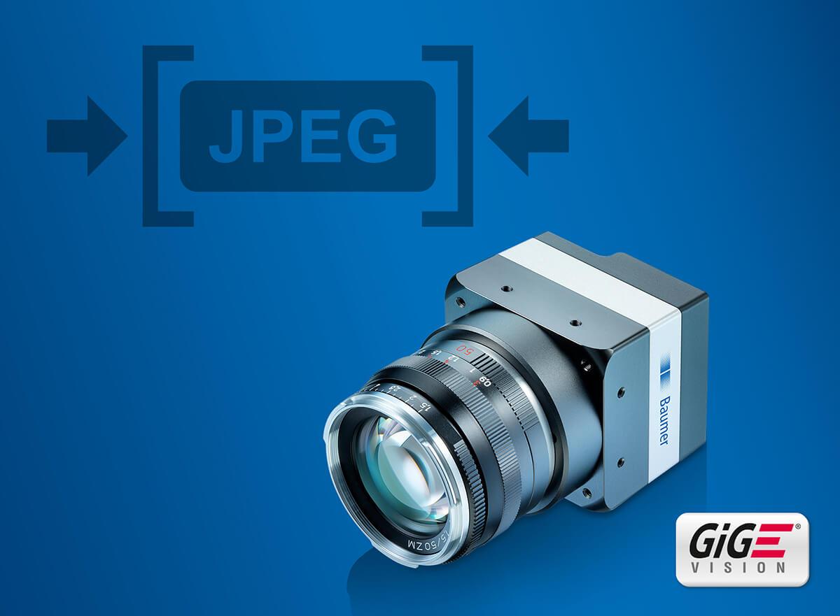 Новые GigE-камеры со встроенным сжатием JPEG изображений от Baumer и КамераIQ